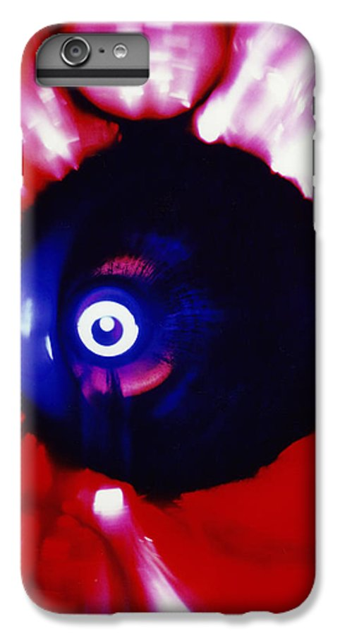 Abstract IPhone 6s Plus Case featuring the photograph Oracle by David Rivas