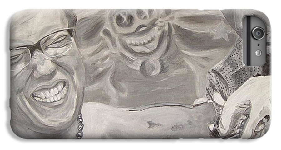 Tattoo IPhone 6s Plus Case featuring the painting Pain by Quwatha Valentine