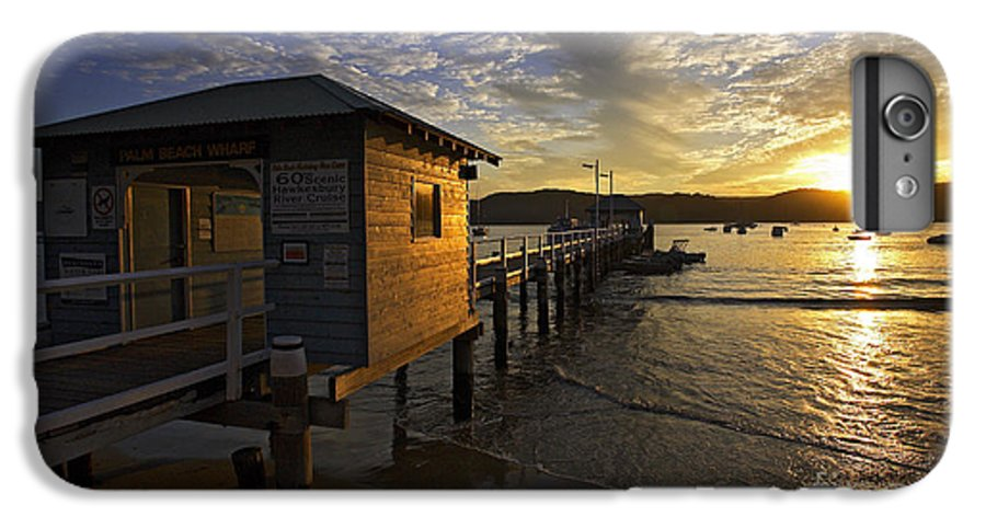 Palm Beach Sydney Australia Sunset Water Pittwater IPhone 6s Plus Case featuring the photograph Palm Beach Sunset by Avalon Fine Art Photography