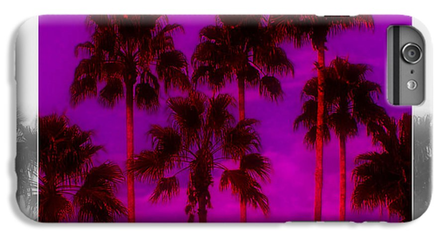 Palm IPhone 6s Plus Case featuring the photograph Palm Tree Heaven by Kenneth Krolikowski