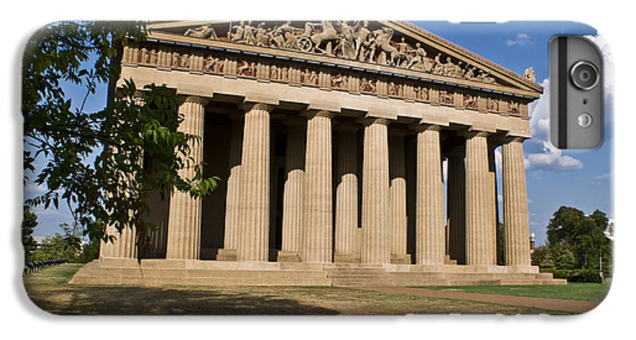 Parthenon IPhone 6s Plus Case featuring the photograph Parthenon Nashville Tennessee by Douglas Barnett