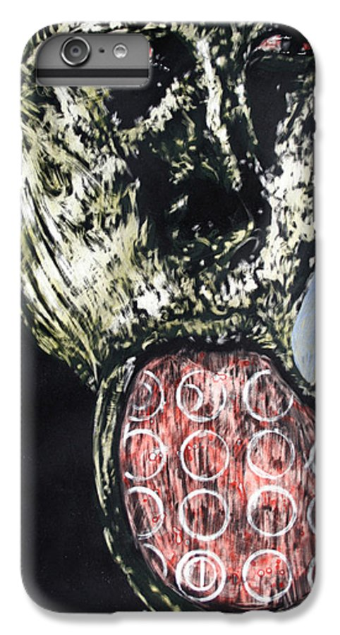 Portrait IPhone 6s Plus Case featuring the mixed media Persephone by Chester Elmore