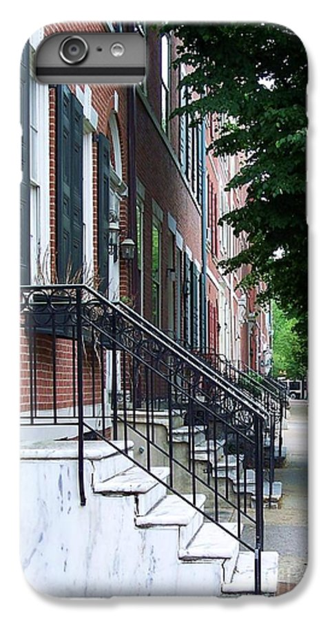 Architecture IPhone 6s Plus Case featuring the photograph Philadelphia Neighborhood by Debbi Granruth