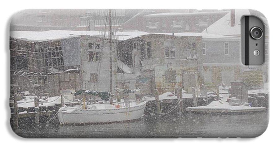 Sail IPhone 6s Plus Case featuring the photograph Pier In Disrepair by Faith Harron Boudreau