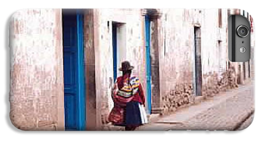 Peru IPhone 6s Plus Case featuring the photograph Pisaq Woman by Kathy Schumann