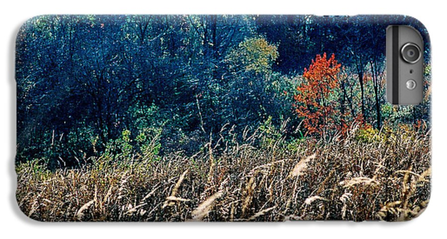 Landscape IPhone 6s Plus Case featuring the photograph Prairie Edge by Steve Karol