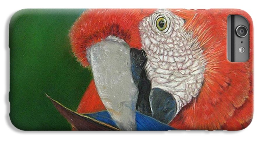 Bird IPhone 6s Plus Case featuring the painting Presumida by Ceci Watson