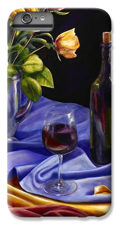 Still Life IPhone 6s Plus Case featuring the painting Private Label by Shannon Grissom