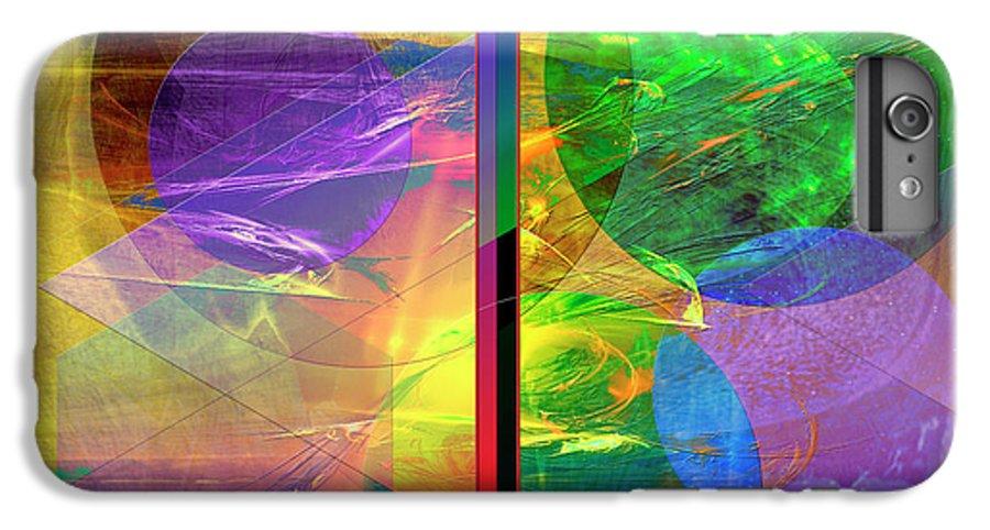 Progressive Intervention IPhone 6s Plus Case featuring the digital art Progressive Intervention by John Beck