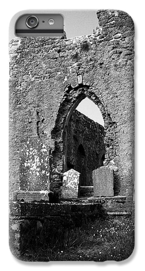 Ireland IPhone 6s Plus Case featuring the photograph Rear Entrance Fuerty Church Roscommon Ireland by Teresa Mucha