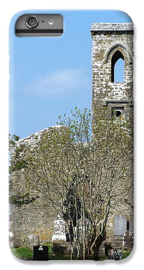 Fuerty IPhone 6s Plus Case featuring the photograph Rear View Fuerty Church And Cemetery Roscommon Ireland by Teresa Mucha