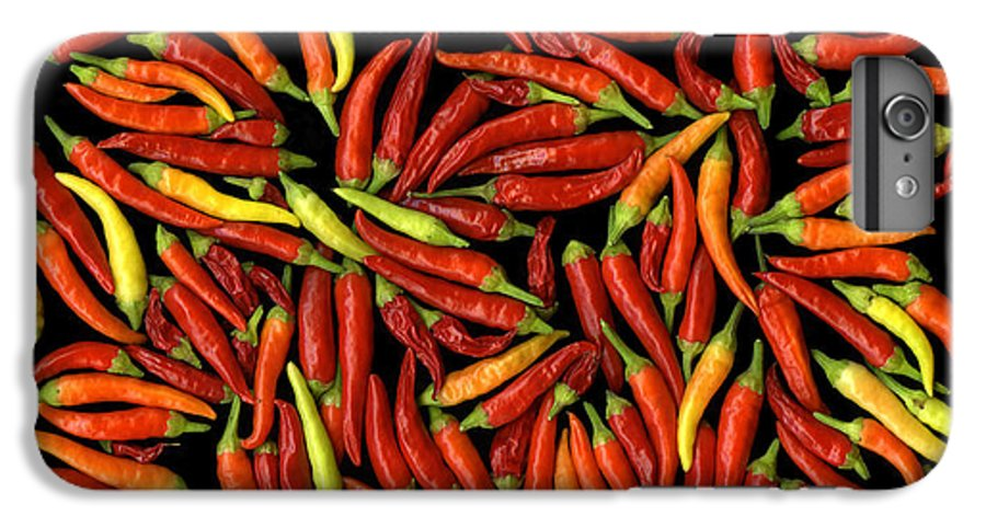 Color IPhone 6s Plus Case featuring the photograph Red Hots by Christian Slanec