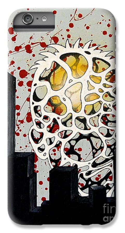 Energy IPhone 6s Plus Case featuring the painting Rise by A 2 H D