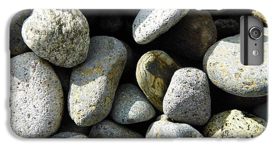 Rock IPhone 6s Plus Case featuring the digital art Rocks by Palzattila