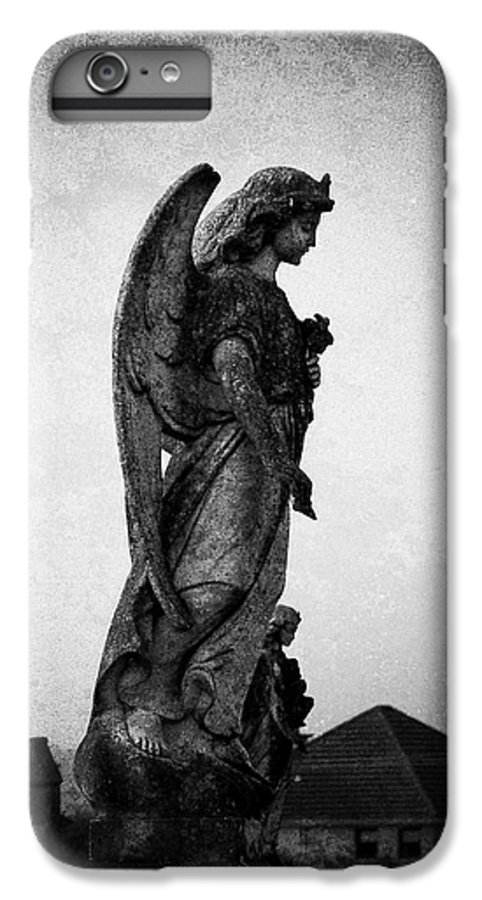 Roscommon IPhone 6s Plus Case featuring the photograph Roscommonn Angel No 4 by Teresa Mucha