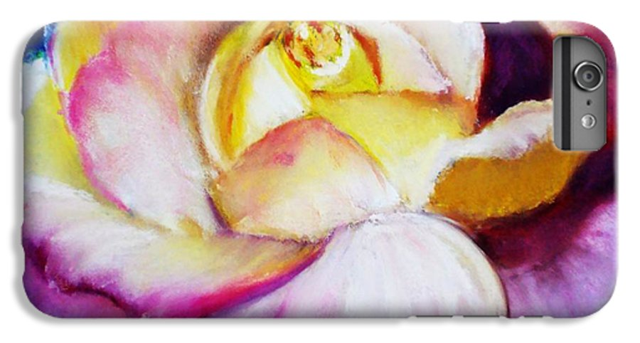 Rose IPhone 6s Plus Case featuring the print Rose by Melinda Etzold