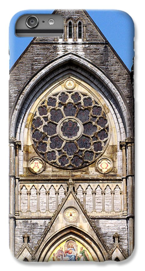 Ireland IPhone 6s Plus Case featuring the photograph Sacred Heart Church Detail Roscommon Ireland by Teresa Mucha