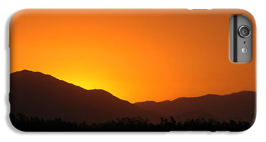 Sunset IPhone 6s Plus Case featuring the photograph San Jacinto Dusk Near Palm Springs by Michael Ziegler