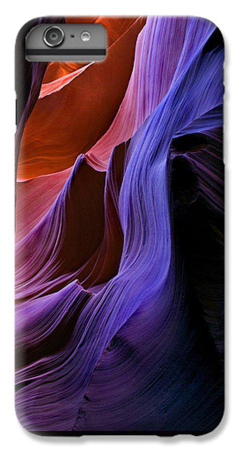 Sandstone IPhone 6s Plus Case featuring the photograph Sandstone Cascade by Mike Dawson