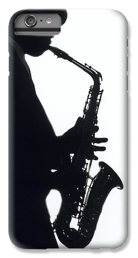 Sax IPhone 6s Plus Case featuring the photograph Sax 2 by Tony Cordoza