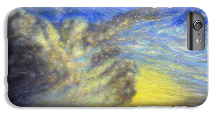Coastal Decor IPhone 6s Plus Case featuring the painting Secret Beach Sunset by Kenneth Grzesik