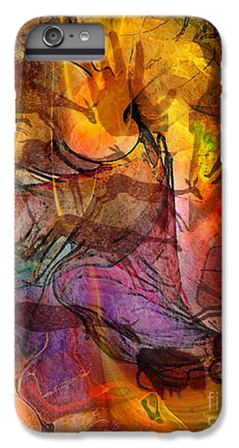 Shadow Hunters IPhone 6s Plus Case featuring the digital art Shadow Hunters by John Beck