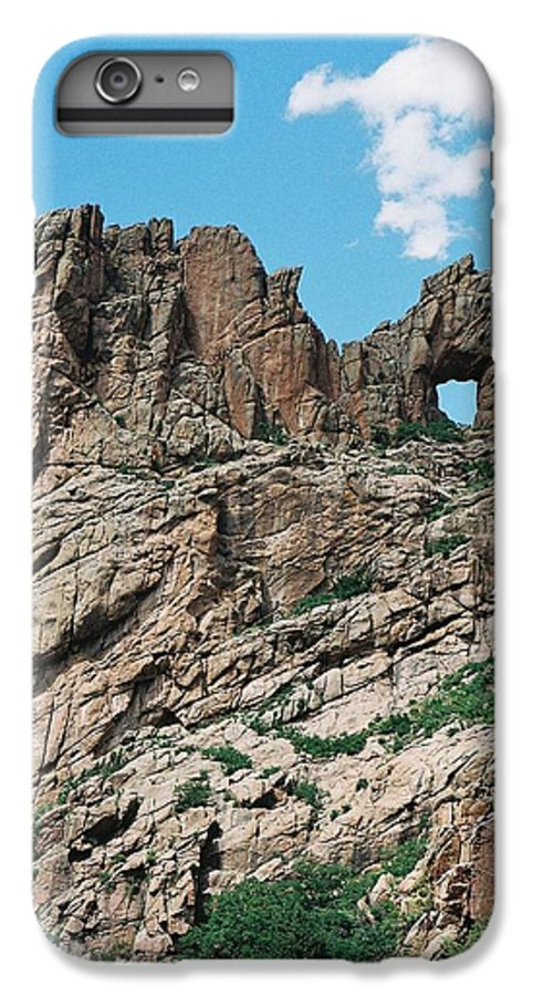 Shelf Road IPhone 6s Plus Case featuring the photograph Shelf Road Rock Formations by Anita Burgermeister
