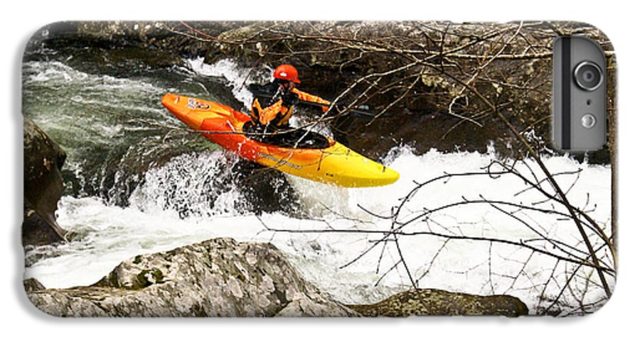 Rapids IPhone 6s Plus Case featuring the photograph Shooting The Rapids by Douglas Barnett