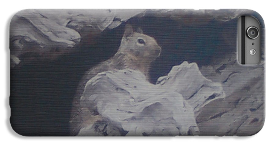 Squirrel IPhone 6s Plus Case featuring the photograph Silent Observer by Pharris Art