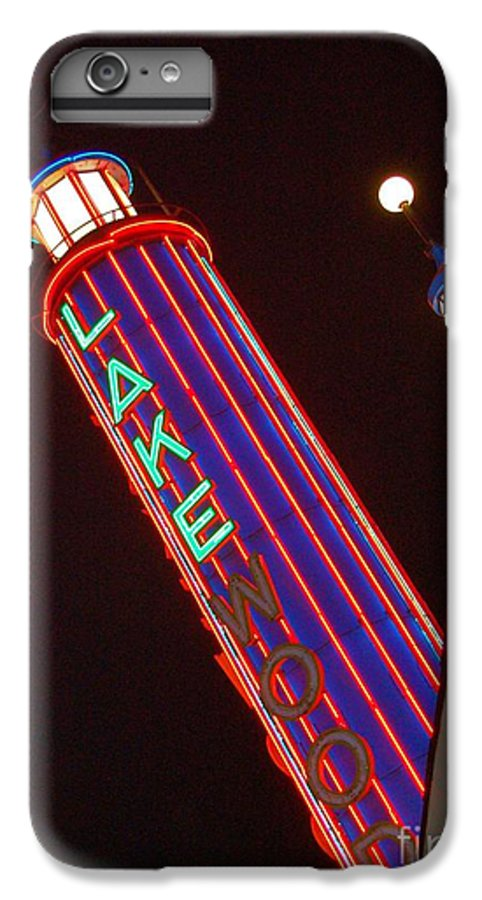 Neon IPhone 6s Plus Case featuring the photograph Sky Lights by Debbi Granruth