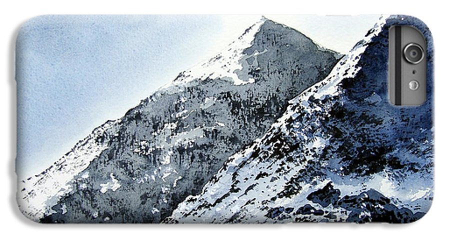 Snowdon IPhone 6s Plus Case featuring the painting Snowdon by Paul Dene Marlor