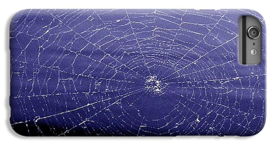 Web IPhone 6s Plus Case featuring the digital art Spiderweb by Kenna Westerman