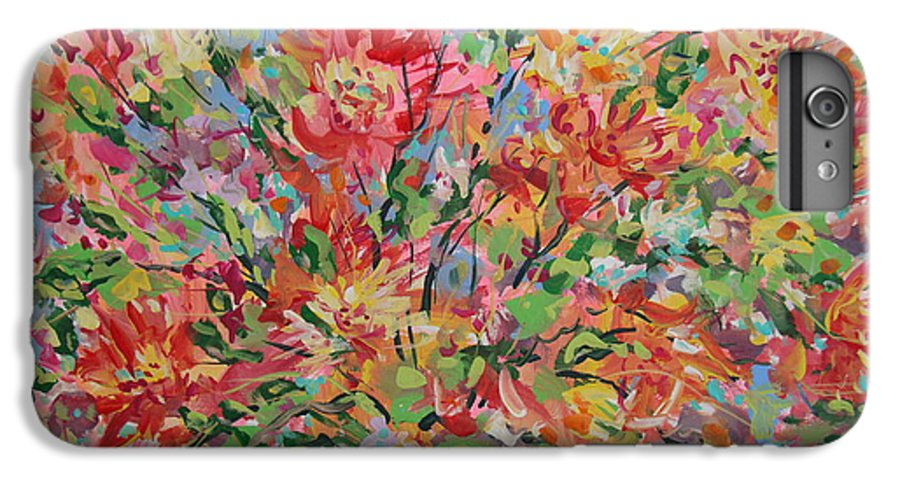 Painting IPhone 6s Plus Case featuring the painting Splendor. by Leonard Holland