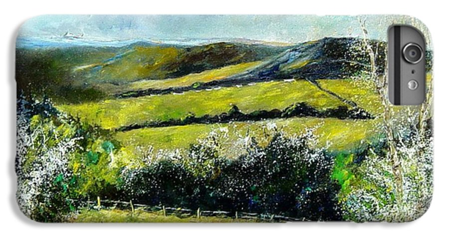 Landscape IPhone 6s Plus Case featuring the print Spring 79 by Pol Ledent