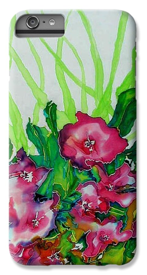 Flora IPhone 6s Plus Case featuring the painting Spring Celebration 1 by Ferril Nawir