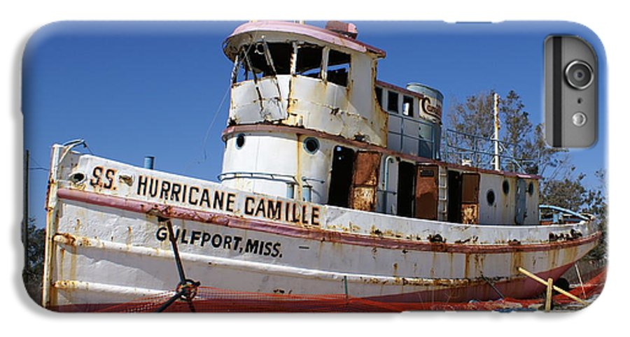 Ship IPhone 6s Plus Case featuring the photograph S.s. Hurricane Camille by Debbie May