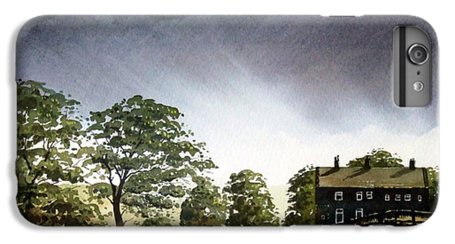 Landscape IPhone 6s Plus Case featuring the painting Stainland Dean by Paul Dene Marlor