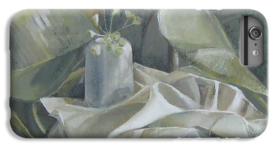 Still Life IPhone 6s Plus Case featuring the painting Still Life by Elena Oleniuc