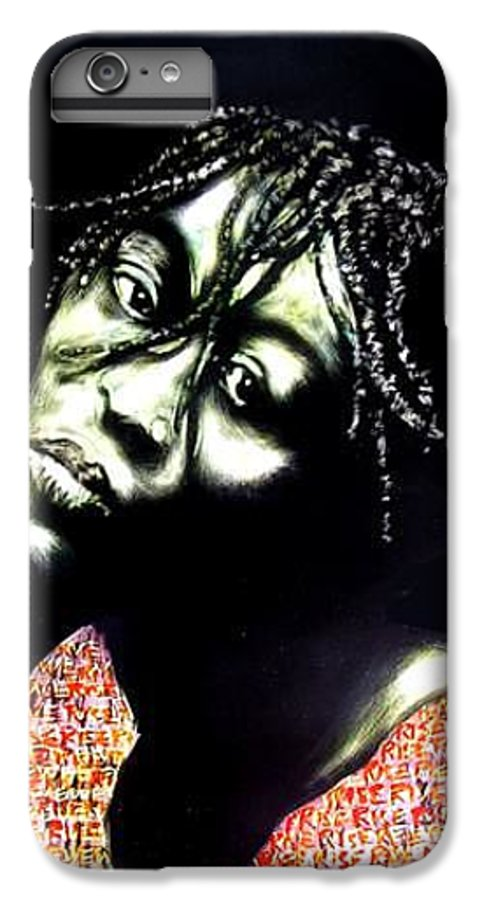 IPhone 6s Plus Case featuring the mixed media Still We Rise by Chester Elmore