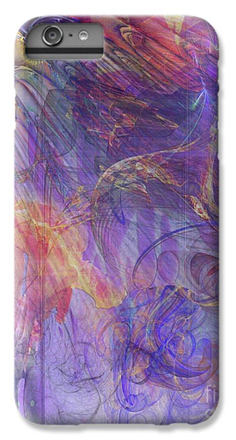 Summer Awakes IPhone 6s Plus Case featuring the digital art Summer Awakes by John Beck