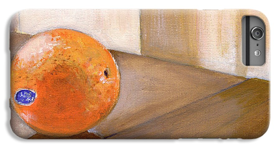 Food IPhone 6s Plus Case featuring the painting Sunkist by Sarah Lynch