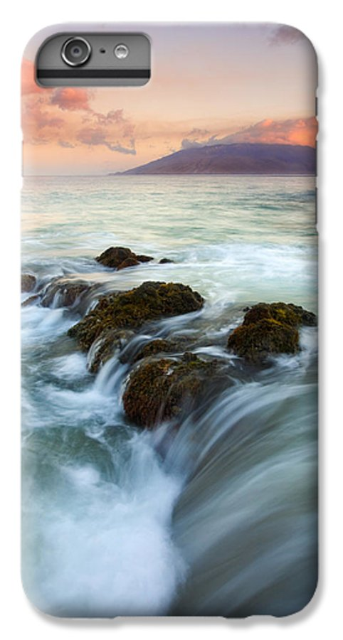 Sunrise IPhone 6s Plus Case featuring the photograph Sunrise Drain by Mike Dawson