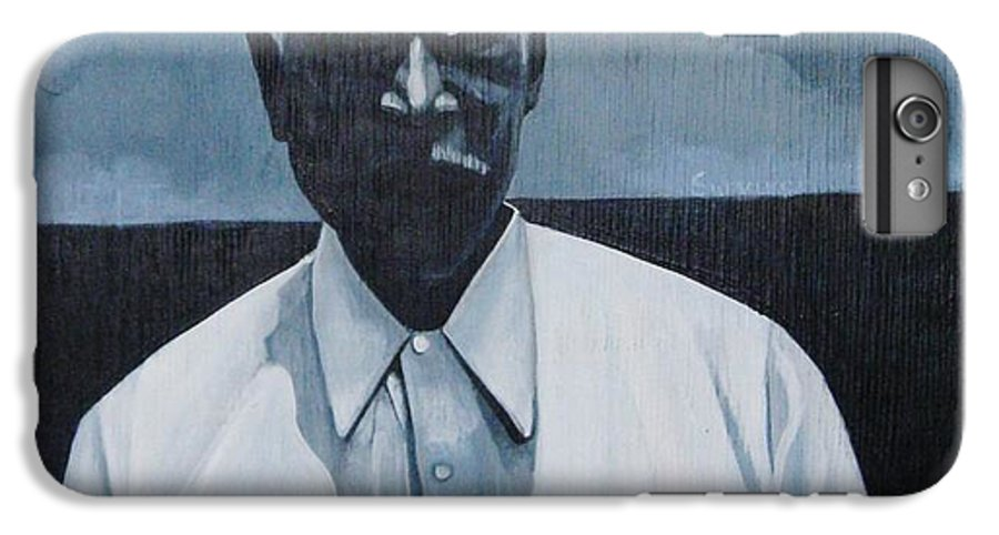 Man IPhone 6s Plus Case featuring the painting Survivor James by Joyce Owens