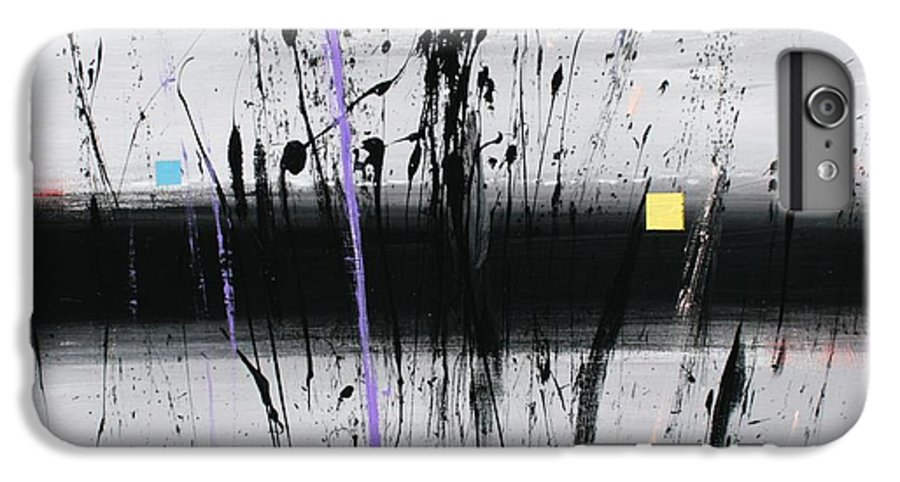 Swamp IPhone 6s Plus Case featuring the painting Swamp 2008 by Mario Zampedroni