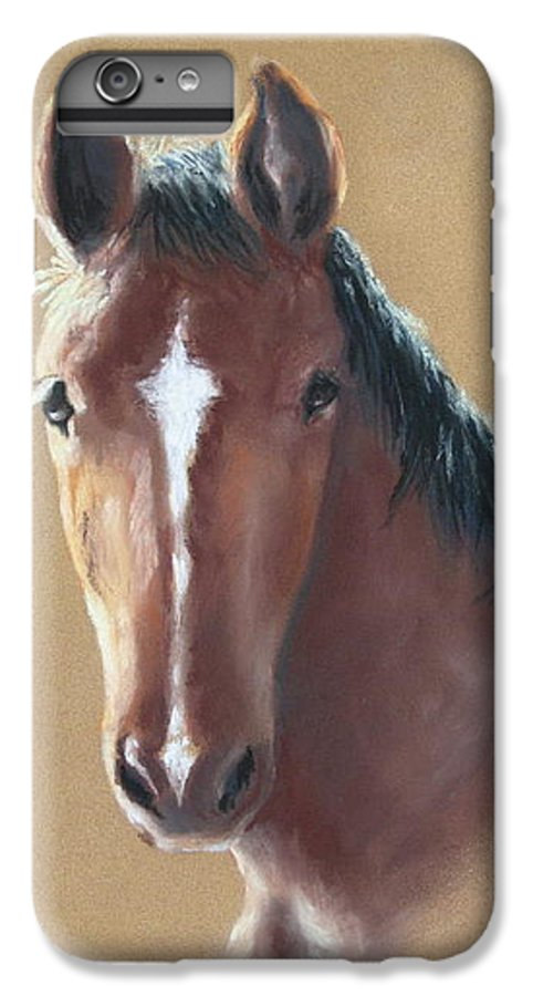 Horse IPhone 6s Plus Case featuring the painting Sweetie by Carol Mueller