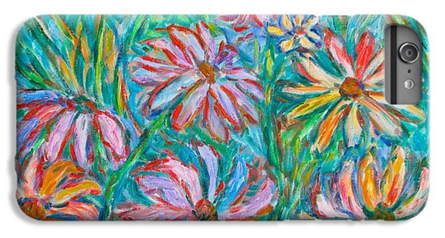 Impressionist IPhone 6s Plus Case featuring the painting Swirling Color by Kendall Kessler