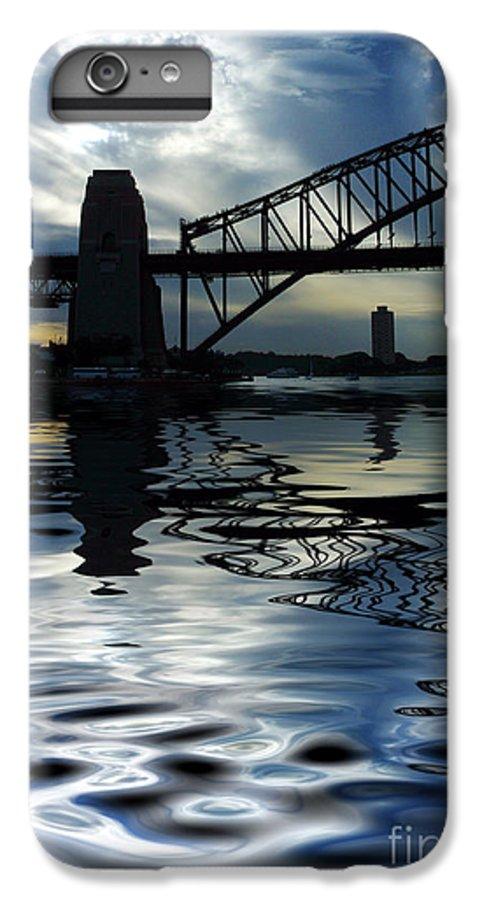 Sydney Harbour Australia Bridge Reflection IPhone 6s Plus Case featuring the photograph Sydney Harbour Bridge Reflection by Sheila Smart Fine Art Photography