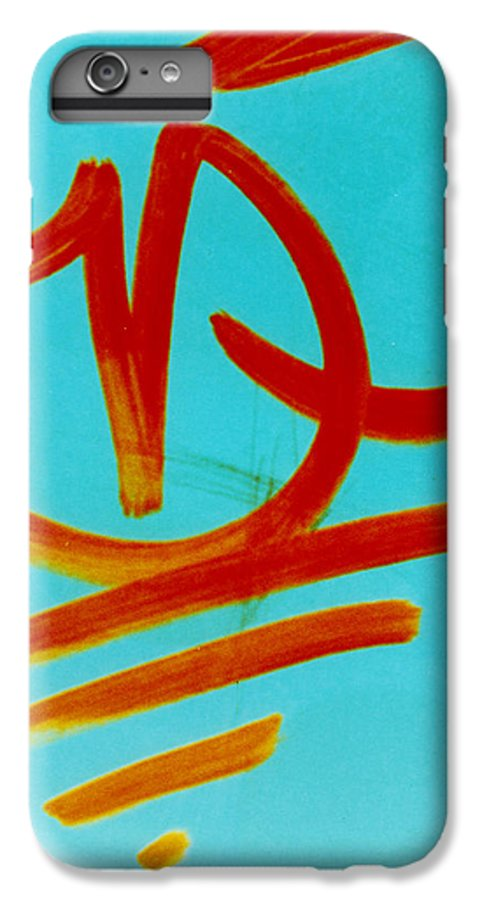 Abstract IPhone 6s Plus Case featuring the photograph Symbols by David Rivas