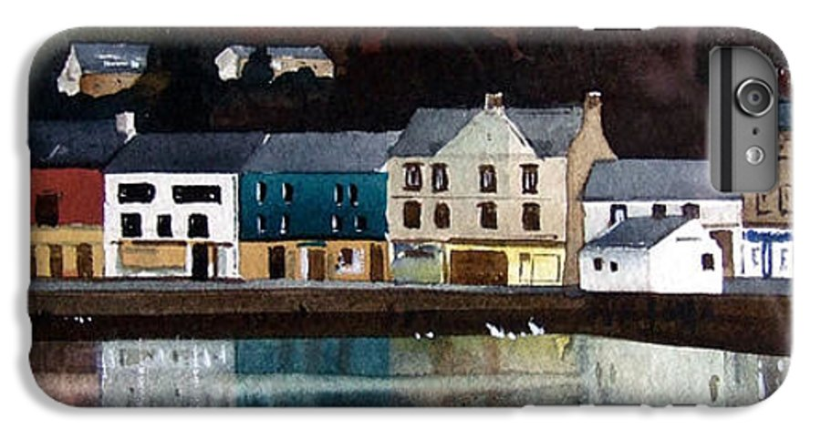 Landscape IPhone 6s Plus Case featuring the painting Tarbert Reflections by Paul Dene Marlor