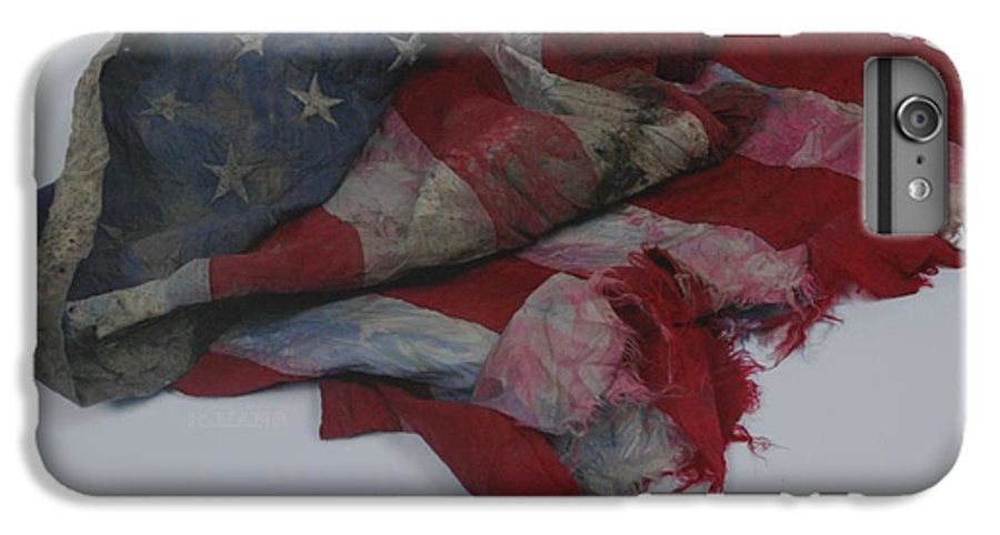 911 IPhone 6s Plus Case featuring the photograph The 9 11 W T C Fallen Heros American Flag by Rob Hans